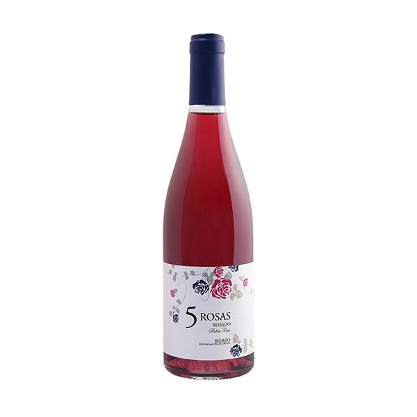 5Rosas Rosé - Spansk Vin - alsidig rosévin - inviterer til at drikke