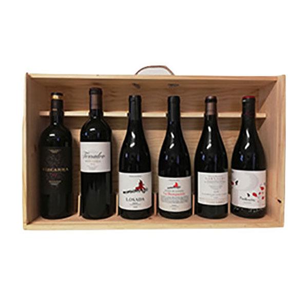 6 fl. Spansk Vin Vingave