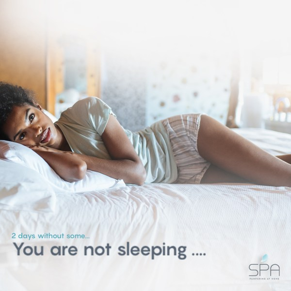 You are not sleeping