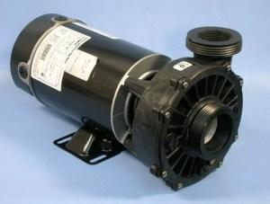 Waterway Spa Pumps | Part No 342041010 SD102N11C | 1hp HiFlo Side Discharge Pump | Hot Tub Pump