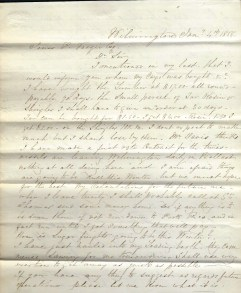Letter 1, Page 1