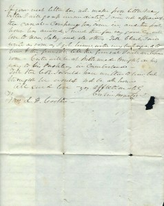 1846 Letter, Page 3