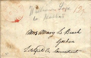 Stampless Letter