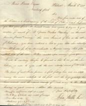 1793 Letter
