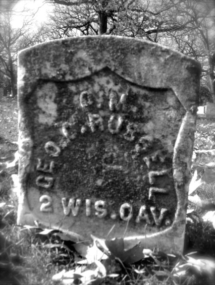 George C. Russell's Gravestone in Madison