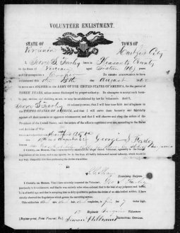 Enlistment Papers