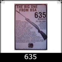 BSA 635 Spare Parts