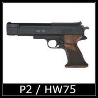 Beeman P2 HW75 Air Pistol Spare Parts