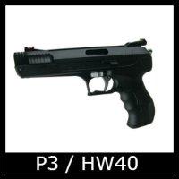Beeman P3 HW40 Air Pistol Spare Parts