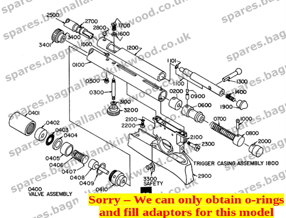 smk 79 models xs79 qb79 th79d etc bagnall and kirkwood rh spares bagnallandkirkwood co uk pellet rifle parts diagram gamo air rifle parts diagram