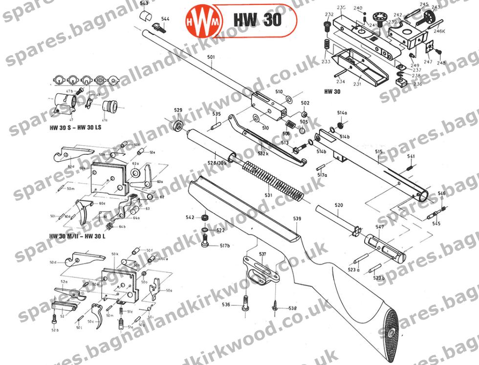 weihrauch hw30 spare parts