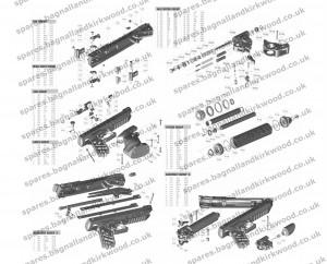 Webley Alecto Exploded Parts Diagram