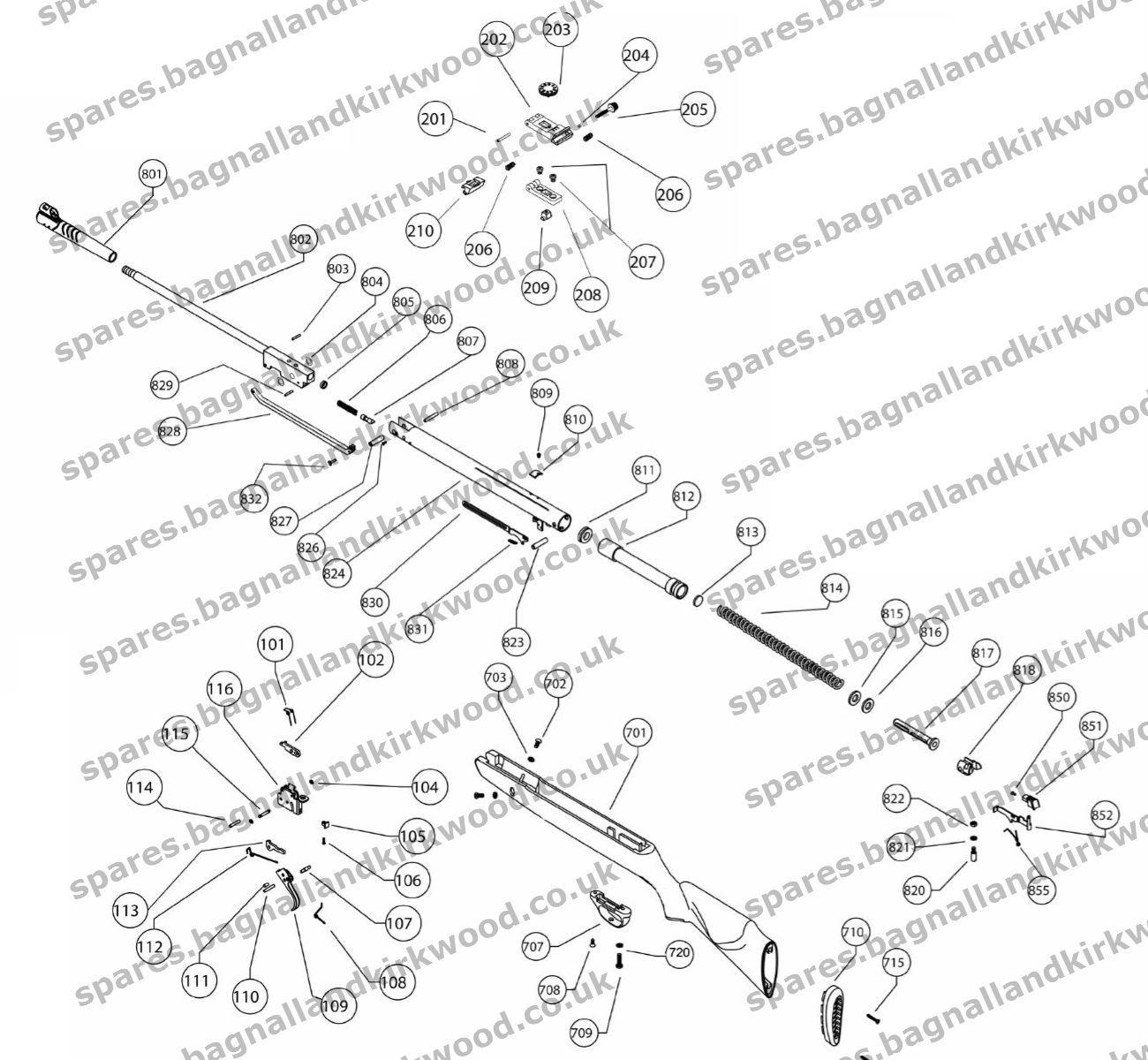 Webley Spector Spare Parts