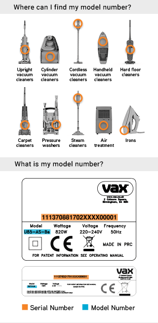 Genuine Spares For All Vax Floorcare