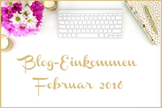 Einkommensreport: Februar 2016