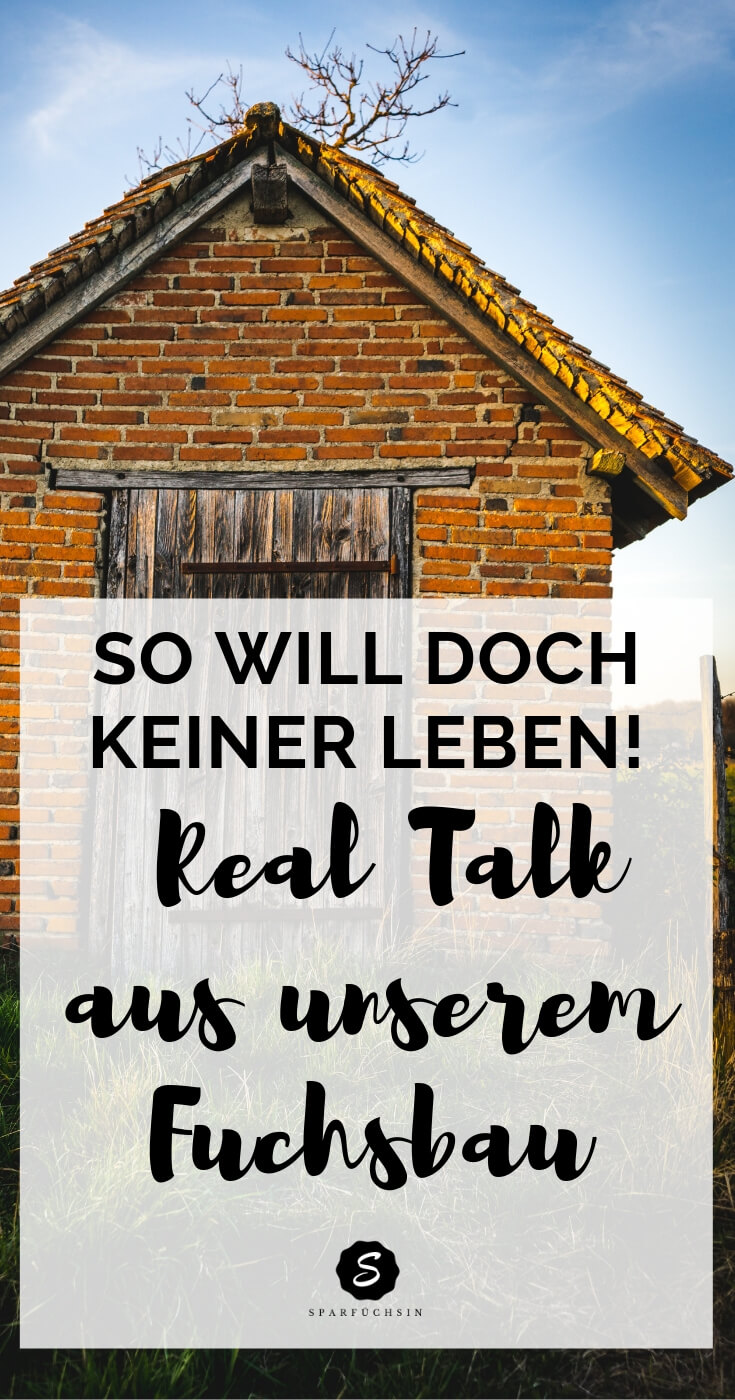 So will doch keiner leben: Real Talk aus unserem Fuchsbau! #daveramsey #finanziellefreiheit #alternativleben #slowliving #slowfamily