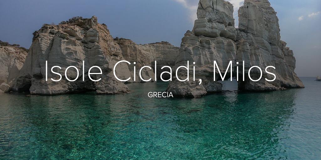 Isole Cicladi, Milos