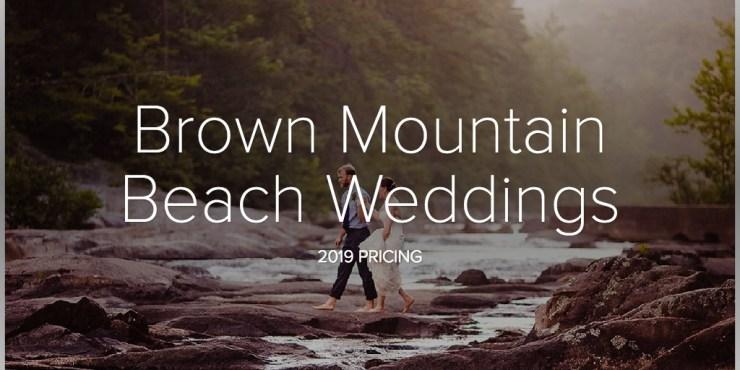 Brown Mountain Beach Weddings