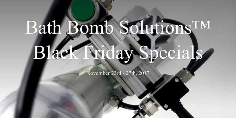 Bath Bomb Solutions™ Black Friday Specials