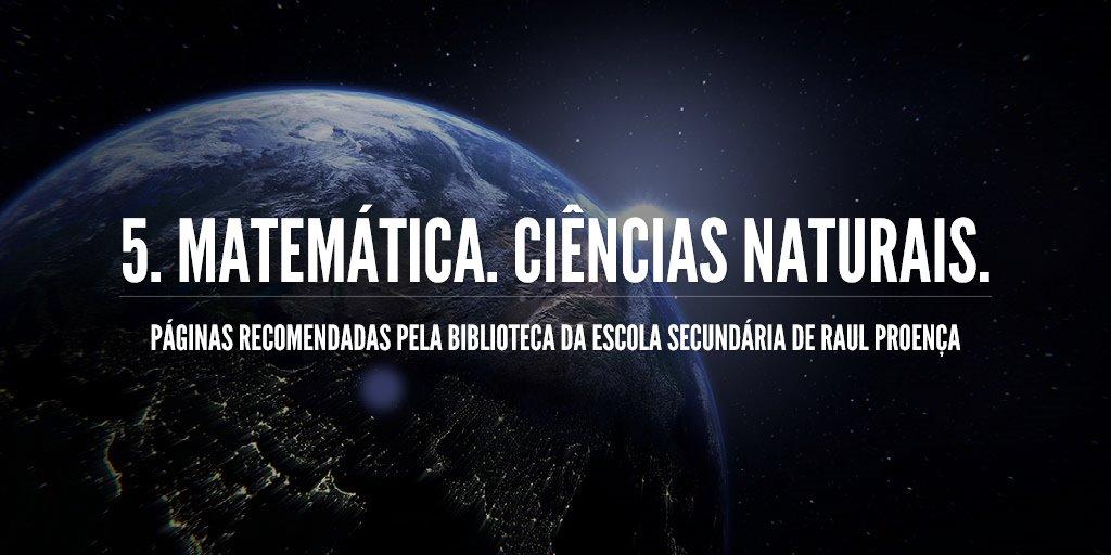 5. matemática. ciências naturais.