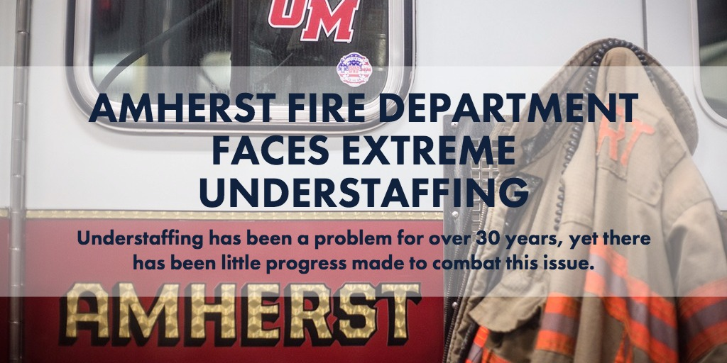 Amherst Fire Department faces extreme understaffing