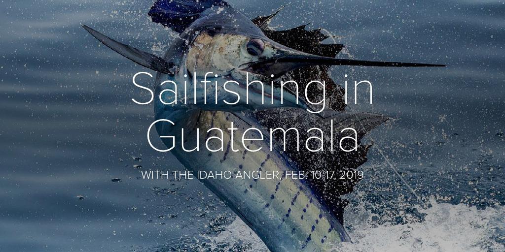 Sailfishing in Guatemala