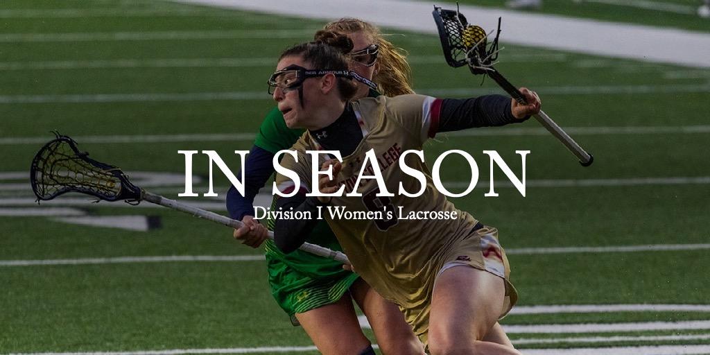 IN SEASON - DI Women's Lacrosse