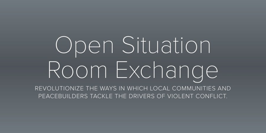 Open Situation Room Exchange