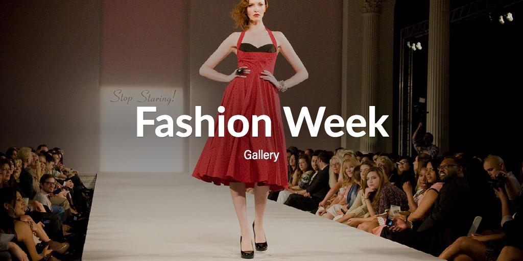 Fashion Week Gallery – Season Rewind
