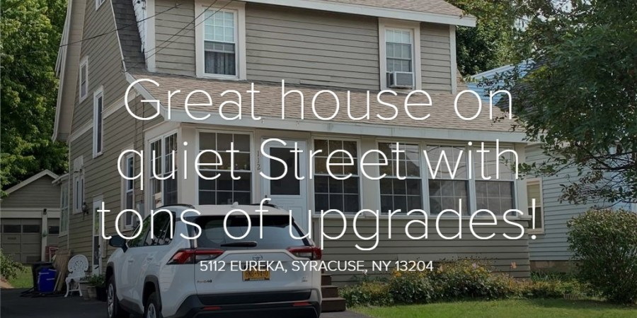 Great house on quiet Street with tons of upgrades!