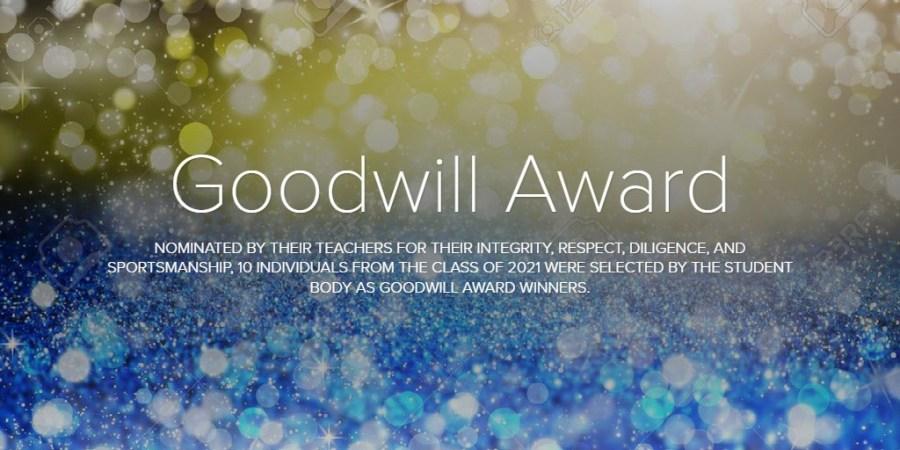 Goodwill Award