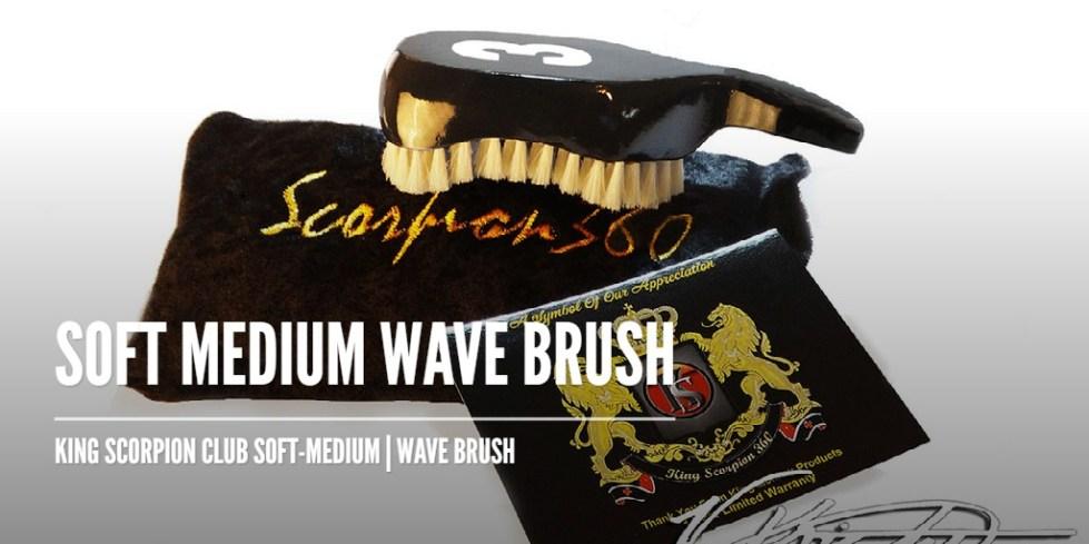 Soft Medium Wave Brush