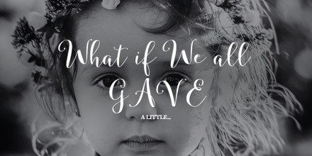 What if We all GAVE