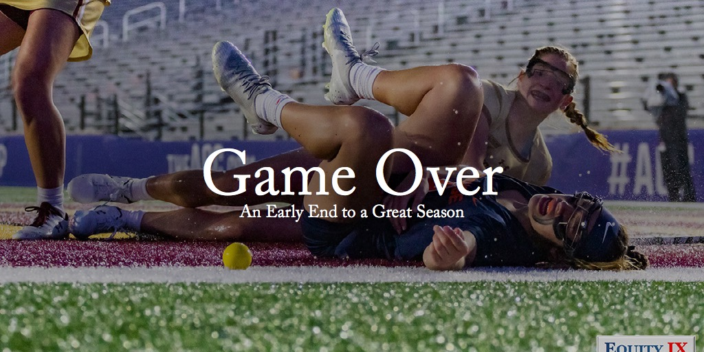 Game Over - An Early End to a Great Season