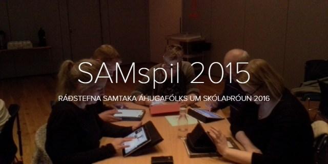 SAMspil 2015