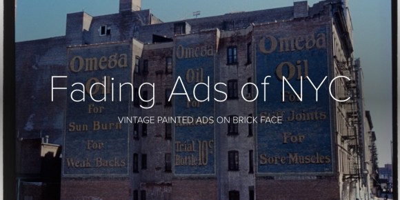 Fading Ads of NYC
