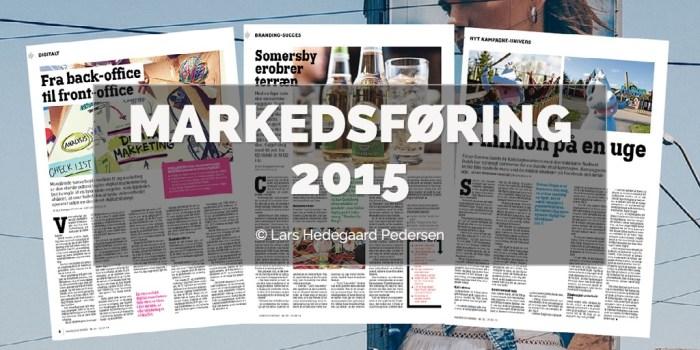 Lars Hedegaard Pedersen - Markedsføring 2015