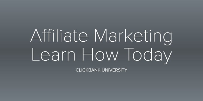 Affiliate Marketing Learn How Today