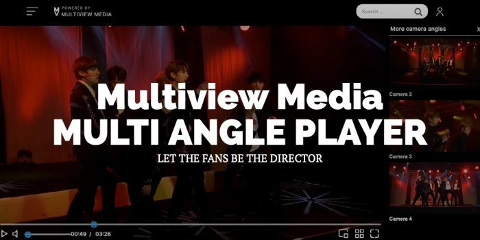 Multiview Media MULTI ANGLE PLAYER