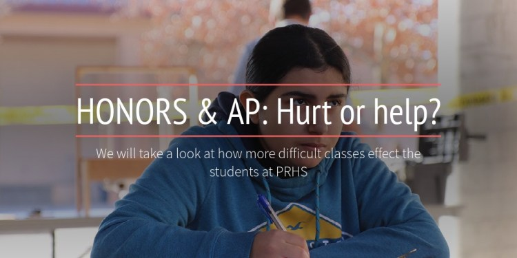 HONORS & AP: Hurt or help?