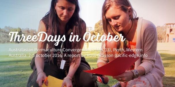 ThreeDays in October