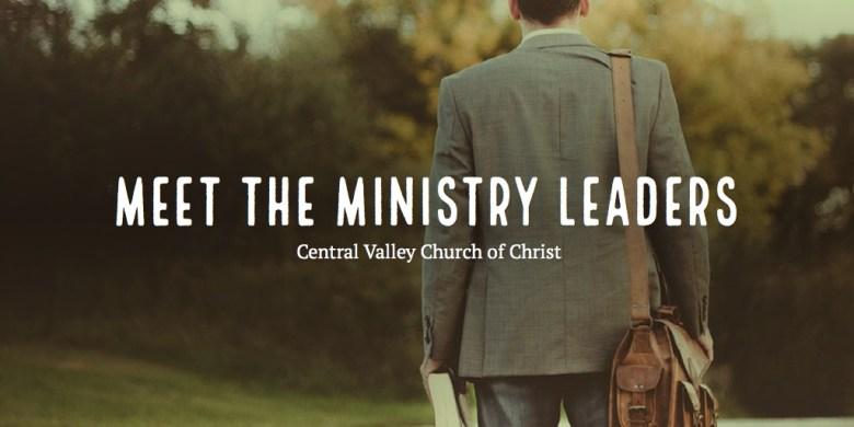 Meet the Ministry Leaders