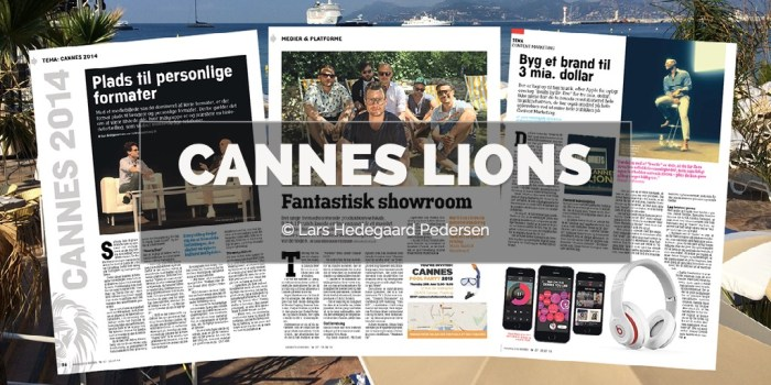 Lars Hedegaard Pedersen - Cannes Lions