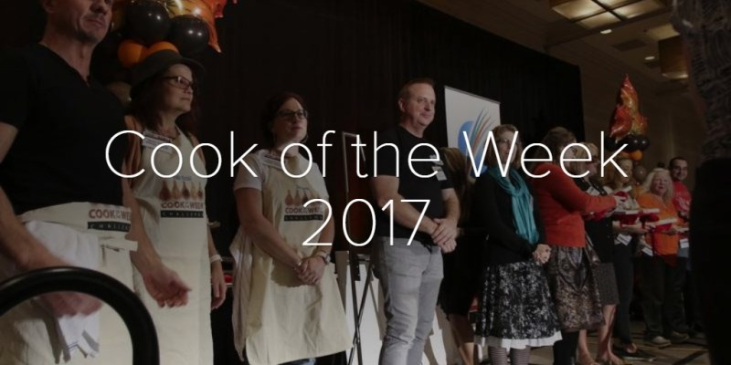 Cook of the Week 2017