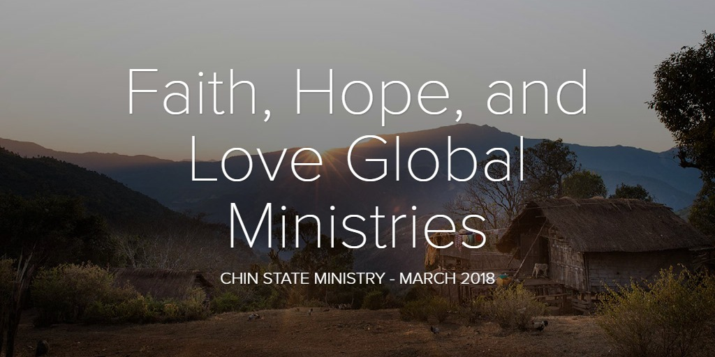FHLGM- Chin State Ministry March 2018