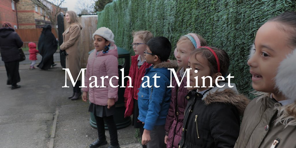 March at Minet