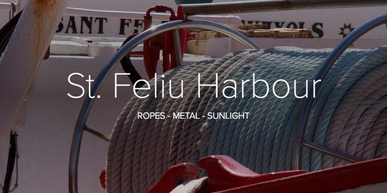 St. Feliu Harbour