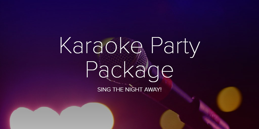 Karaoke Party Package