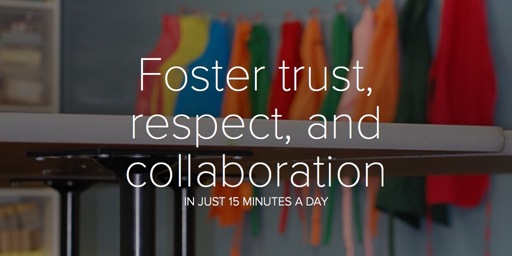Foster trust, respect, and collaboration
