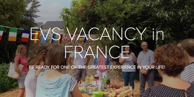 EVS VACANCY in FRANCE